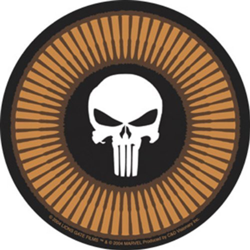 Licenses Products Punisher Circle Skull Sticker by C&D Visionary Inc.
