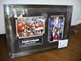 Hand Signed Dennis Bergkamp of Arsenal Photo INVINCIBLES DISPLAY