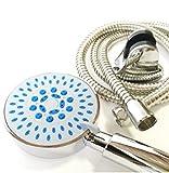 多機能 シャワーヘッド 5 モード 節水 水勢 強 アップ