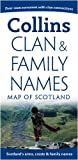 Collins Uk Pictorial Maps - Clan and Family Names Map of Scotland