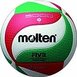 Molten V5M5000 Ballon de volley-ball blanc/vert/rouge