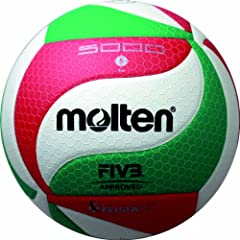 Buy Molten V5M5000 Premium Competition Volleyball by Molten