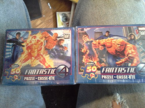 FANTASTIC 4 CLOBERIN' TIME FLAME Mini Puzzles 2 Box Set