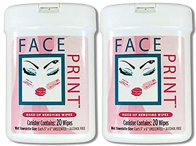 Face Print (New!) - Premium Makeup Remover Wipes