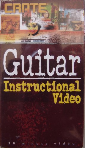 Crate Electrical Electric Guitar Instructional Vhs Video Rick Plunkett (Guitarist)