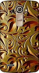 Uppercase Back Cover For Lg G4 H818N