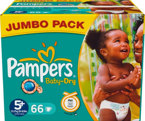 comparamus pampers baby dry size 5 junior jumbo pack. Black Bedroom Furniture Sets. Home Design Ideas