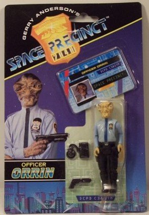 Officer Orrin Action Figure - Gerry Anderson's Space Precinct