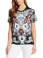 Just Cavalli Camiseta Manga Corta (Negro)