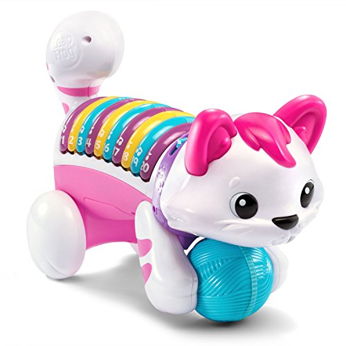 Musical Toys For 1 Year Olds : Kitty number musical count and crawl leapfrog toys for