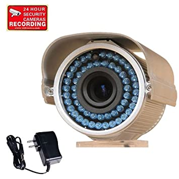 """Security Camera Outdoor 1//3/"""" PIXIM DPS WDR Infrared Day Night Surveillance BBE"""