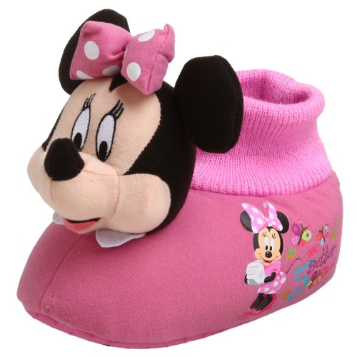 Cheap Disney Mickey Mouse Clubhouse Toddler/Little Kid Minnie Slipper (B001BNCOZY)