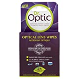 Dr Optic Optical Lens Cleaning Wipes for Glasses LCD TV iPad Camera Laptop 24 Pk