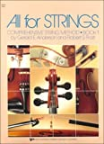 All for Strings: Comprehensive String Method Viola Book 1 by Robert S. Frost, Gerald E. Anderson published by Kjos Music Company (1985) [Paperback]