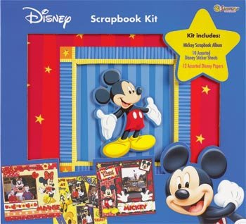 Disney / Sandylion 12x12 Postbound Scrapbook
