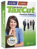 H&R Block TaxCut 2008 Premium Federal + State + e-file [OLD VERSION]