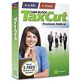 H&R Block TaxCut 2008 Premium Federal + State + e-file [OLD VERSION] ~ H&R Block