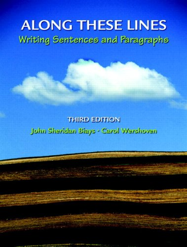 Along These Lines: Writing Sentences and Paragraphs (with MyWritingLab Student Access Code Card) (3rd Edition)
