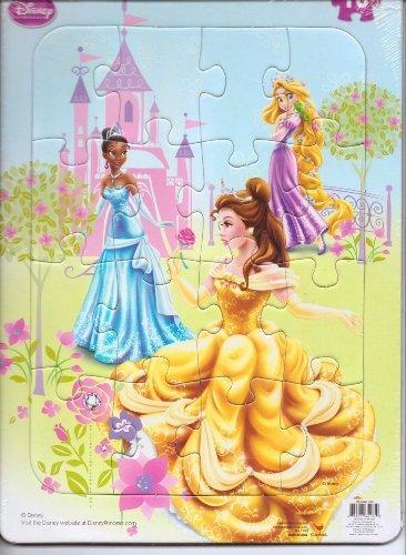 Disney Princess Jigsaw Frame Puzzle - 16 Pieces - 1