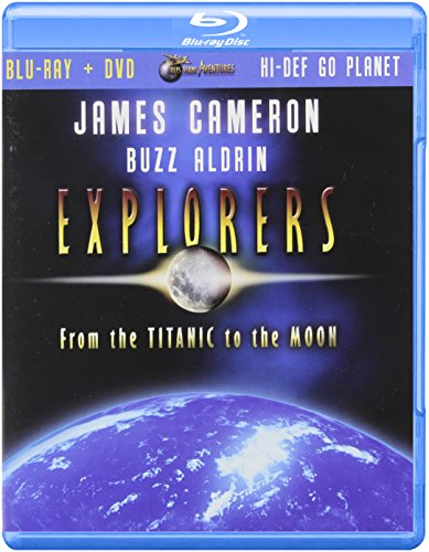 (James Cameron)Explorers:From the Titanic to the Moon (Two -Disc Blu Ray / Dvd Combo) [Blu-ray]