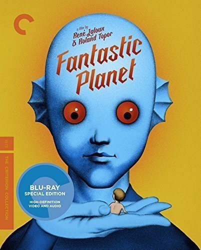 Blu-ray : Fantastic Planet (Criterion Collection) (Special Edition, 4K Mastering, Restored, Widescreen)
