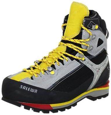 SALEWA MS RAVEN COMBI GTX (W) 00-0000061063, Herren Sportschuhe - Outdoor, Schwarz (Black/Yellow 903), EU 41 (UK 7.5)