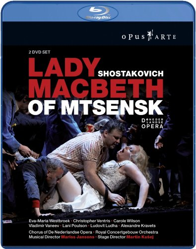 ショスタコーヴィチ作曲 歌劇 ムツェンスク郡のマクベス夫人 [Blu-ray] [Import]