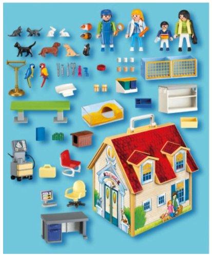 Imagen 2 de Playmobil - Veterinaria Clínica Maletín (4374)