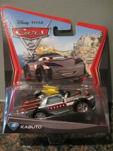 Disney Pixar Cars 2 Movie Die-Cast #35 Kabuto 1:55 Scale by Mattel - 1