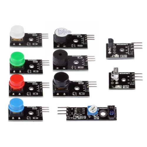Sainsmart sensor modules mega r education