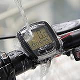 ドイター(deuter) サイクルコンピューター ワイヤレス BC-N8 防水 簡単設置 自転車