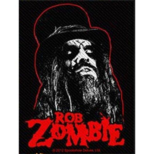Rob Zombie - Patch Portrait (in 10 cm x 9 cm)