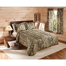 Realtree Bedding Comforter Set Size: King( Xtra Green Camo )