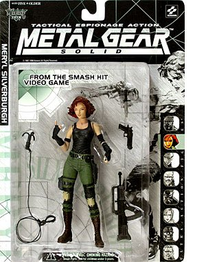 Picture of McFarlane Metal Gear Solid Meryl Silverburgh From the Smash Hit Video Game with Tactical Espionage Action Figure (B0012NT5QY) (McFarlane Action Figures)