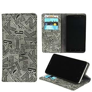 D.rD Flip Cover designed for Micromax YU Yuphoria YU5010