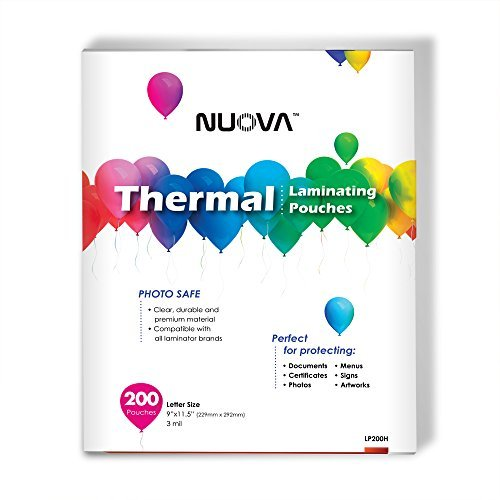 nuova-premium-thermal-laminating-pouches-9-x-115-letter-size-3-mil-200-pack-lp200h