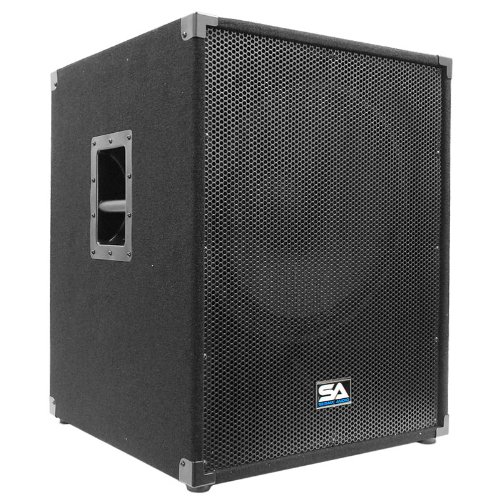 "Seismic Audio - 18"" Pa Subwoofer Pro Audio Band Speaker Cabinet Sub - Band, Bar, Wedding, Karaoke, Dj, 18 Inch Cab"