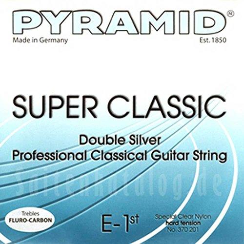 Pyramid Super Classic Double Silver CARBON