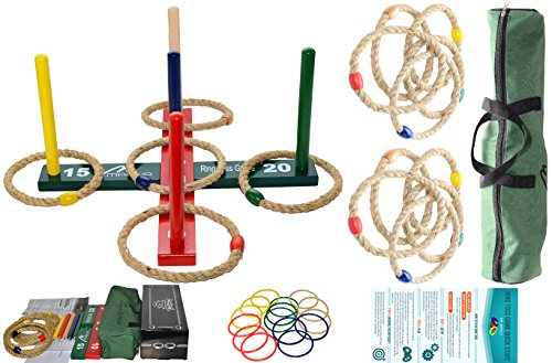 Mabua-Ring-Toss-Game-Kids-Adults-With-10-Quoits-Carry-Bag-Available-10-Quoits-and-15-Plastic-Ropes