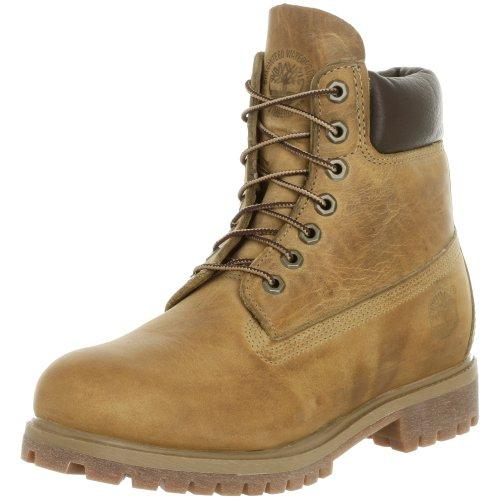 "Timberland Classic 6"" Waterproof, Men's Boots, Wheat Burnished, 6.5 UK"