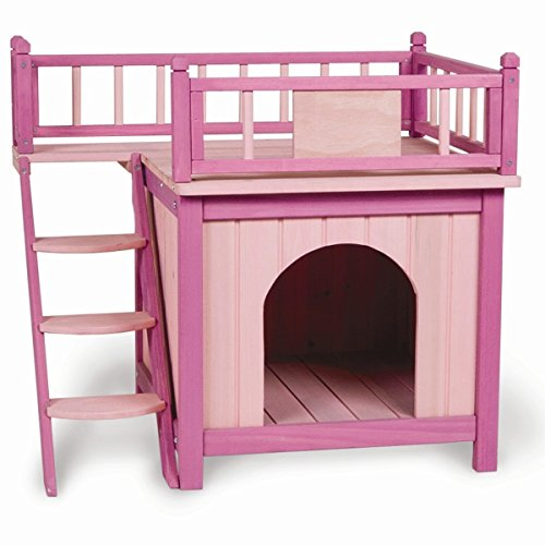Princess Palace Dog House - Large Medium Small Dogs Cats Houses Kennel Crate Play Pen Igloo Outdoor Indoor - Sale! front-27483