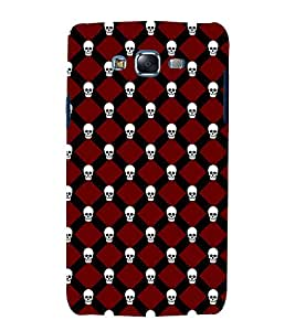 printtech Cute Skull Pattern Back Case Cover for Samsung Galaxy Grand Prime G530h