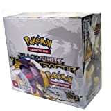 Pokemon Black & White Legendary Treasures Trading Card Game Booster Display Case