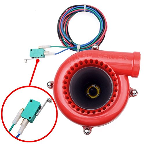 Astra Depot Car Fake Dump Valve Electronic Turbo Blow Off Valve Analog Sound BOV (Electronic Blow Off Valve compare prices)