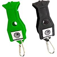 Kendama Holder X2, Jepetoys Two Holders Pack (1x Black + 1x Green) Pro Model Holster With Clip. Made From [Durable...