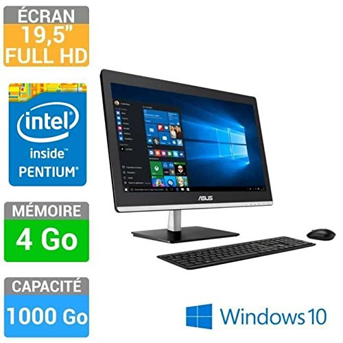 asus ordinateur tout en un 19 5 39 39 pentium 4go 1to win10 et2032iuk bc018x meilleure pc portable. Black Bedroom Furniture Sets. Home Design Ideas