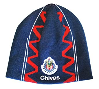 Amazon.com: RHINOX CHIVAS DE GUADALAJARA BEANIE (BLUE): Clothing