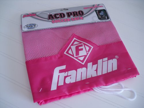Franklin Sports ACD Pro Soccer Sack - PINK - 1