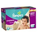 Pampers Cruisers Diapers Size 4 Econo...