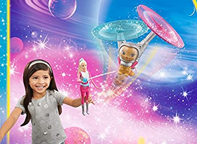 Barbie Star Light Galaxy Barbie Doll & Flying Cat from Mattel